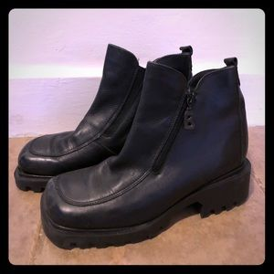 Bogner Canada  Leather Ankle Boot